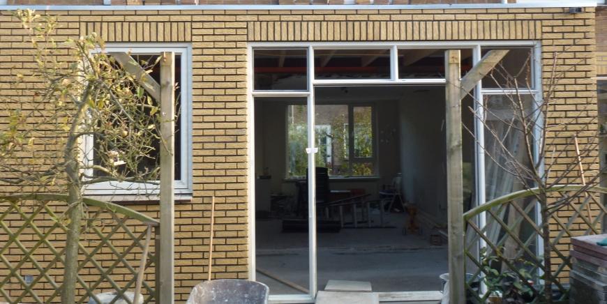 Voorbeelden Uitbouw Woning : Veenstra kiers aanbouw woning
